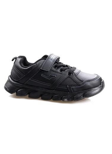 Cool 19-K11 Erkek Çocuk Siyah Günlük Spor Ayakkabı Siyah